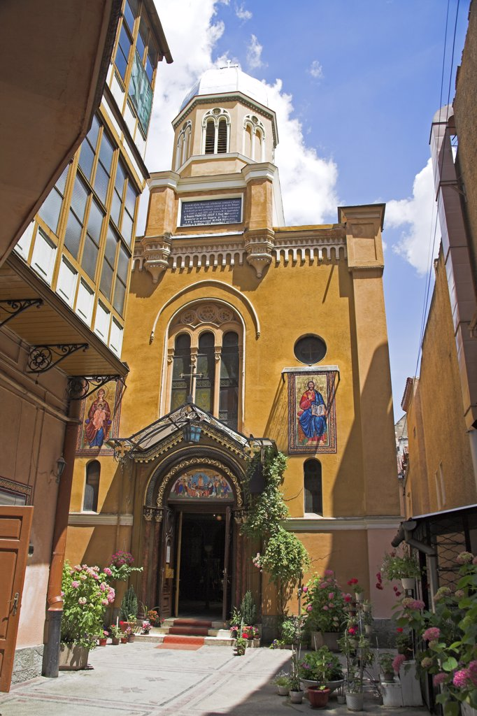 Stock Photo: 4290-3453 Romanian Orthodox Cathedral, Catedrala Ortodoxa Sfanta Adormire a Maicii Domnului, Piata Sfatului, Brasov, Romania