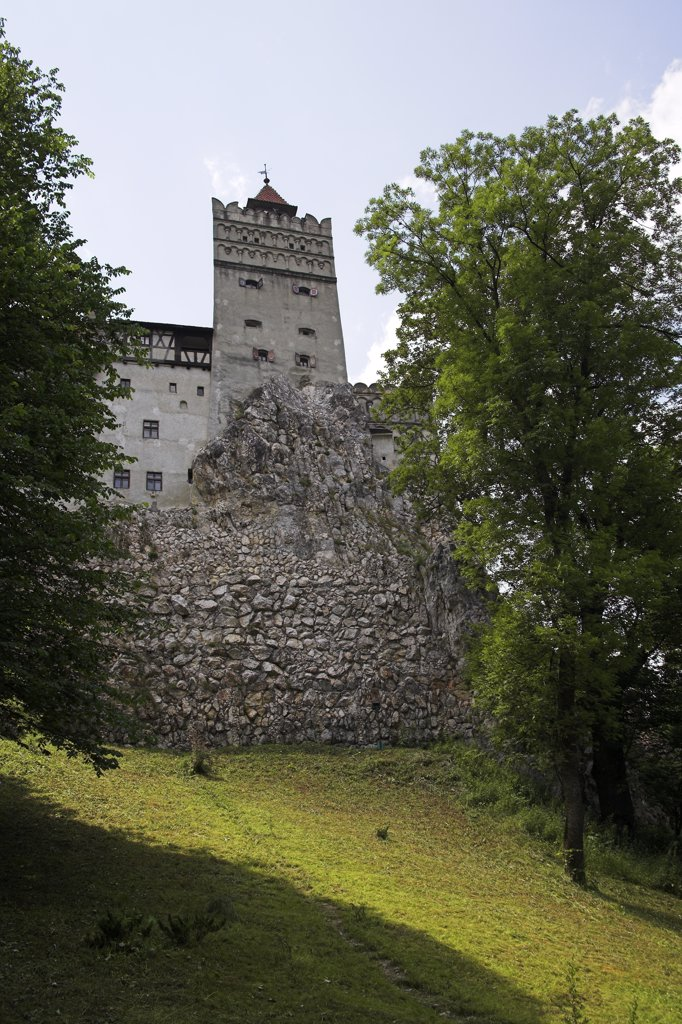 Stock Photo: 4290-3566 Bran Castle, Bran, near Brasov, Transylvania, Romania