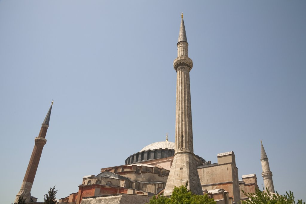Stock Photo: 4290-3589 Haghia Sophia Mosque, Istanbul, Turkey