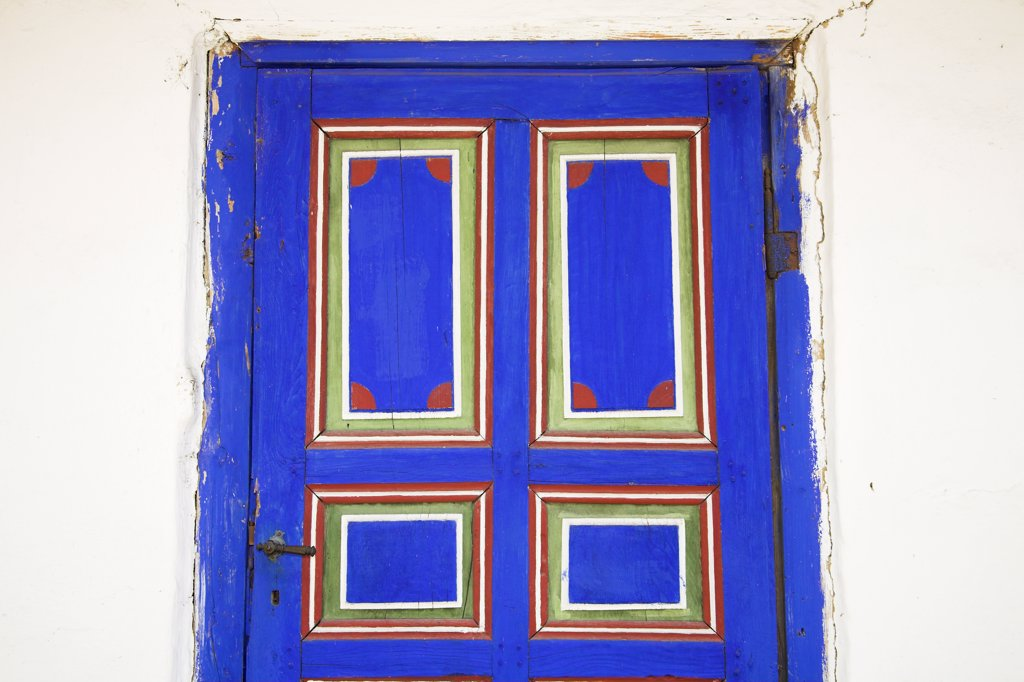 Stock Photo: 4290-3594 Door of building, Muzeul National al Satului Dimitrie Gusti, Ethnographic Village Museum, Bucharest, Romania
