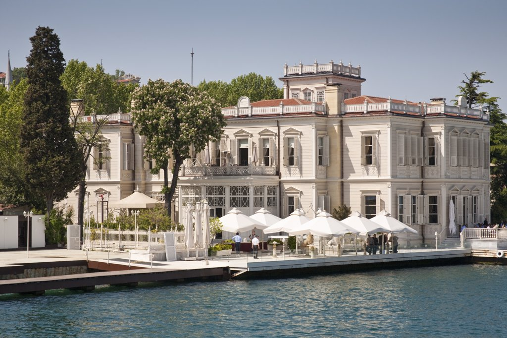 Stock Photo: 4290-3619 Sait Halim Pasa, beside the Bosphorus, Yenikoy, Istanbul, Turkey