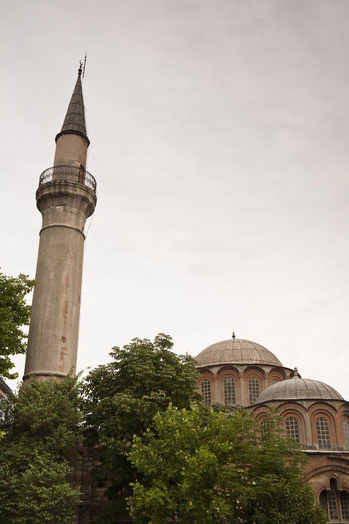 Stock Photo: 4290-3814 Chora Museum, also known as Kariye Muzesi, Edirnekapi, Istanbul, Turkey