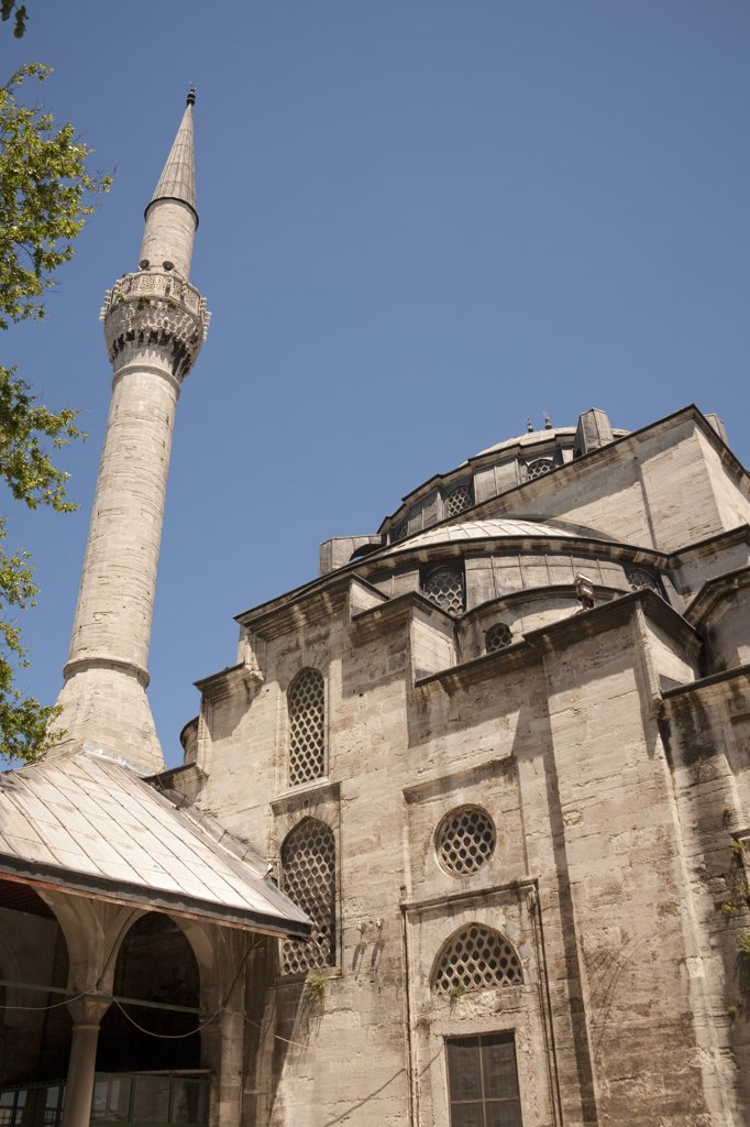 Stock Photo: 4290-3962 Mihrimah Sultan Mosque, Uskudar, Istanbul, Turkey