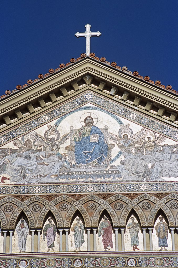 Stock Photo: 4290-5887 Amalfi Cathedral, Duomo Di Sant Andrea, Amalfi, Amalfi Coast, Campania, Italy