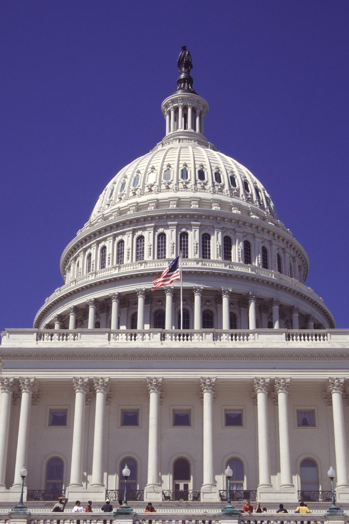 Stock Photo: 4290-6515 The Capitol Building, Capitol Hill, Washington, DC, USA