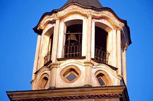 Stock Photo: 4290-7125 Saint Cyril and Saint Methodius Church bell tower, Veliko Tarnovo, Bulgaria