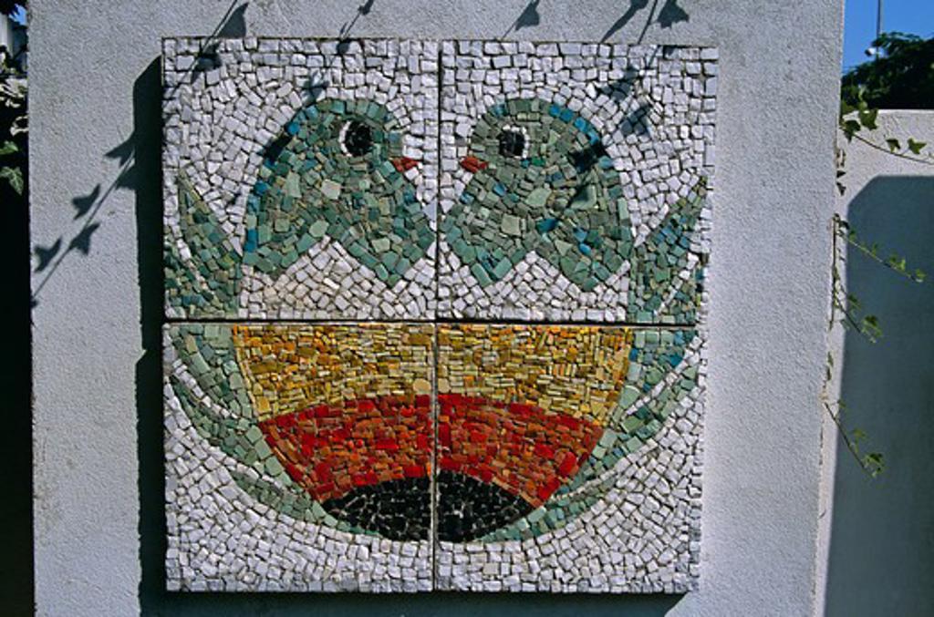 Stock Photo: 4290-7270 Mosaic, Childrens Gallery, Sandanski, Bulgaria