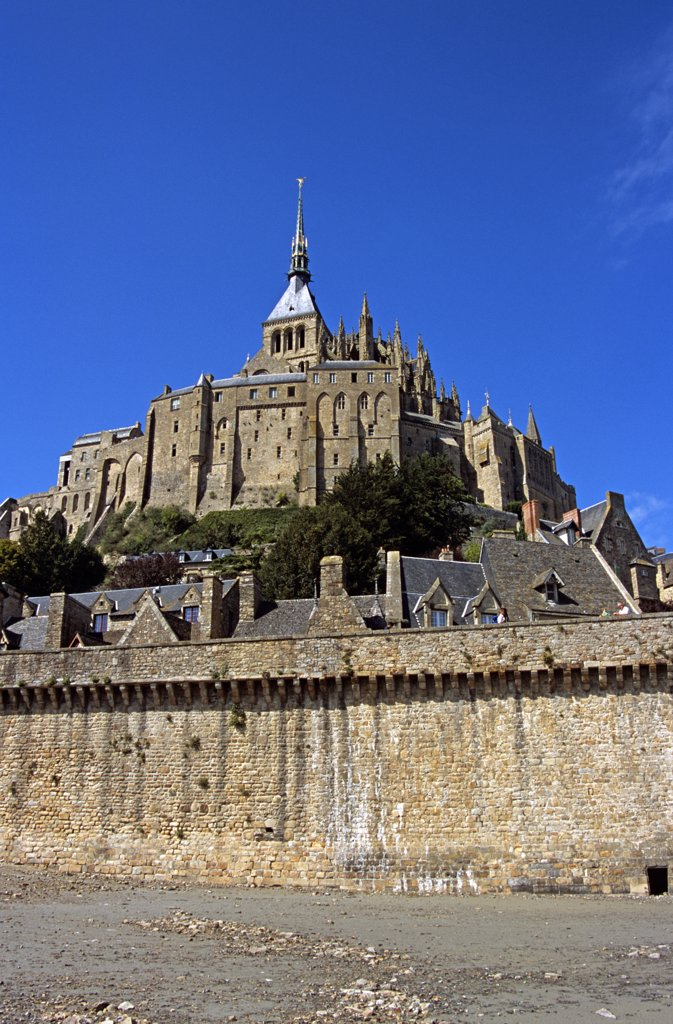 Le Mont-St-Michel, Normandy, France : Stock Photo