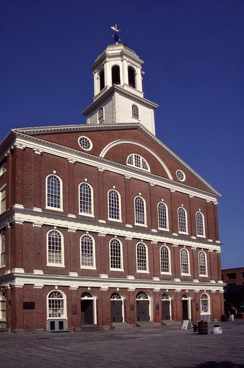 Stock Photo: 4290-8740 Faneuil Hall, Boston, Massachusetts, New England, USA.