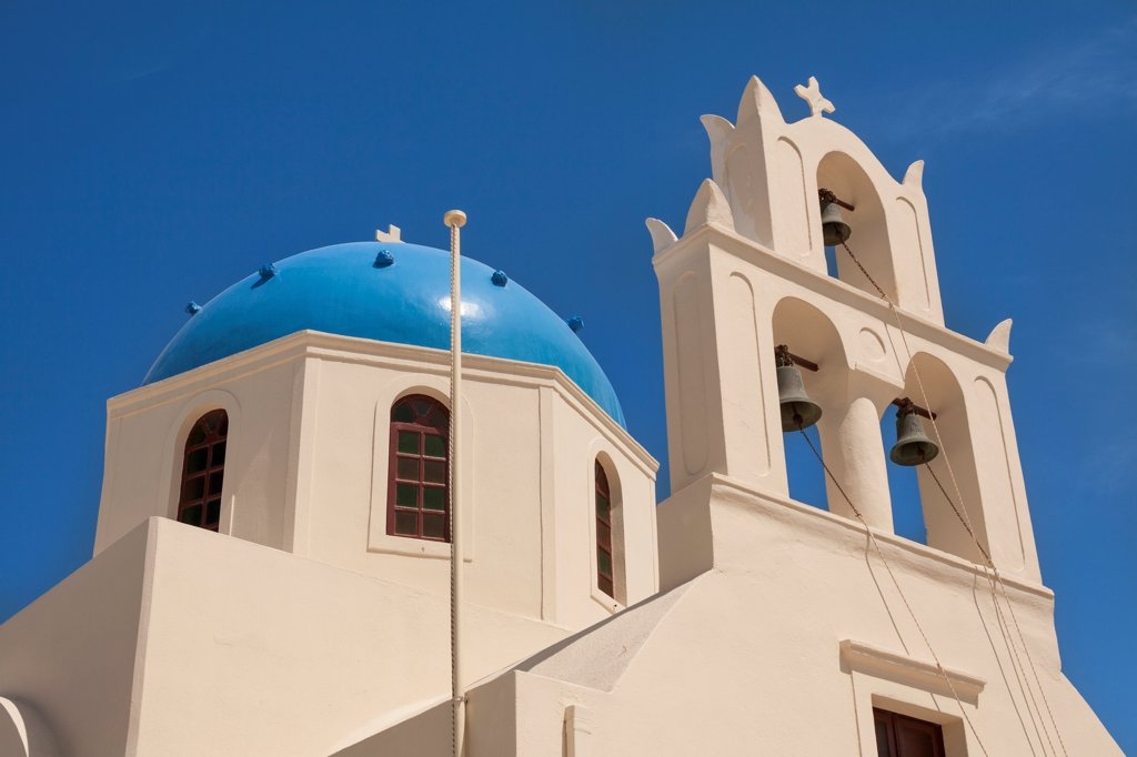 Stock Photo: 4290-9533 Tou Stavrou Church, Church of the Holy Cross, Oia, Santorini, Greece