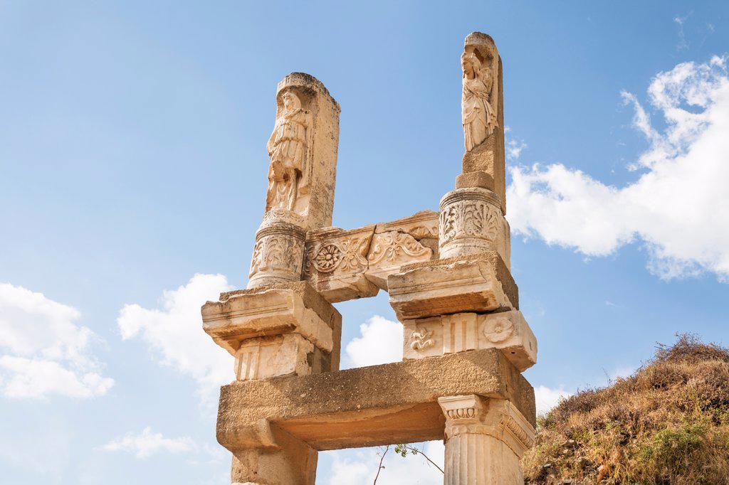 Temple of Domitian, Ephesus, Turkey : Stock Photo