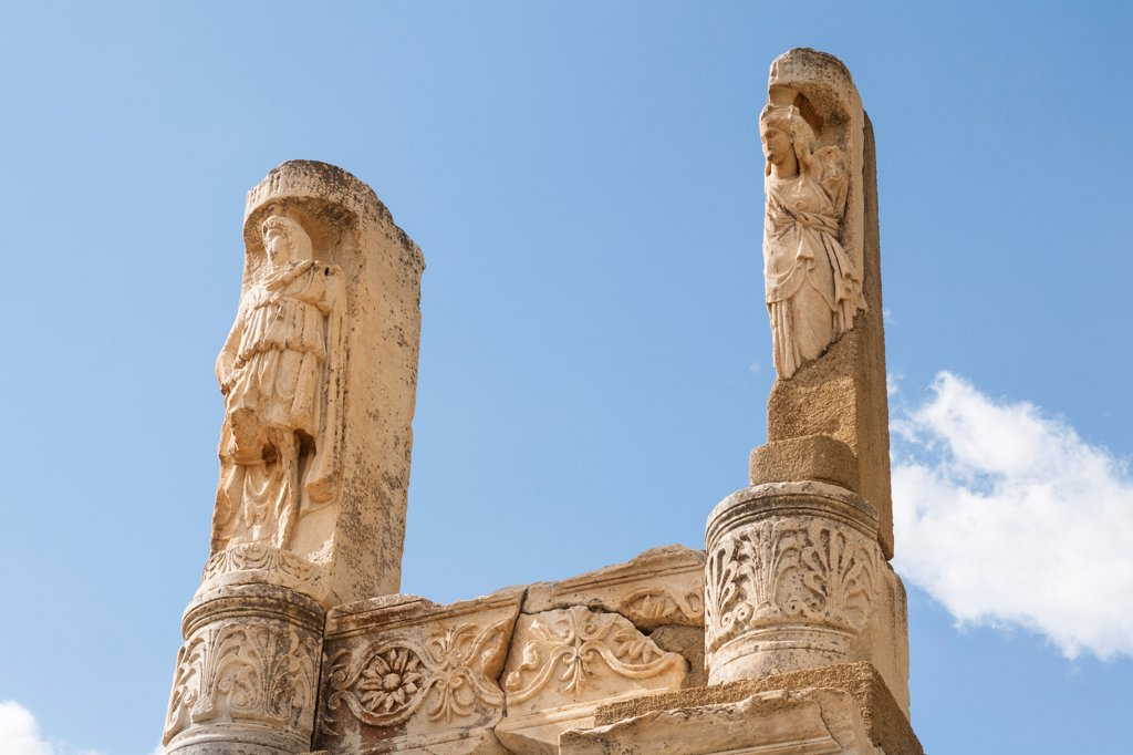 Temple of Domitian, Ephesus, Turkey : Stock Photo