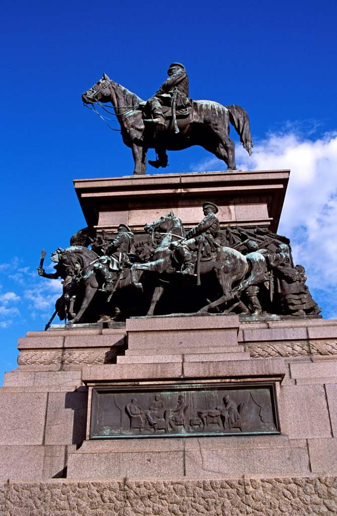 Stock Photo: 4290-9899 Tsar Osvoboditel Monument, Monument of Liberation, Sofia, Bulgaria