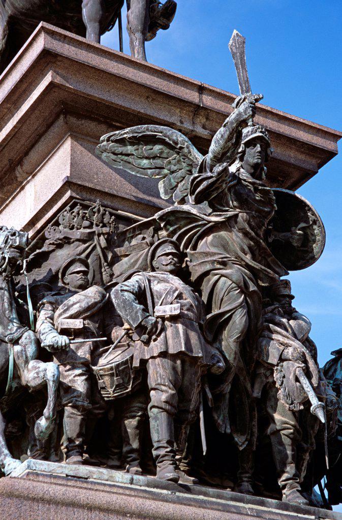 Stock Photo: 4290-9902 Tsar Osvoboditel Monument, Monument of Liberation, Sofia, Bulgaria