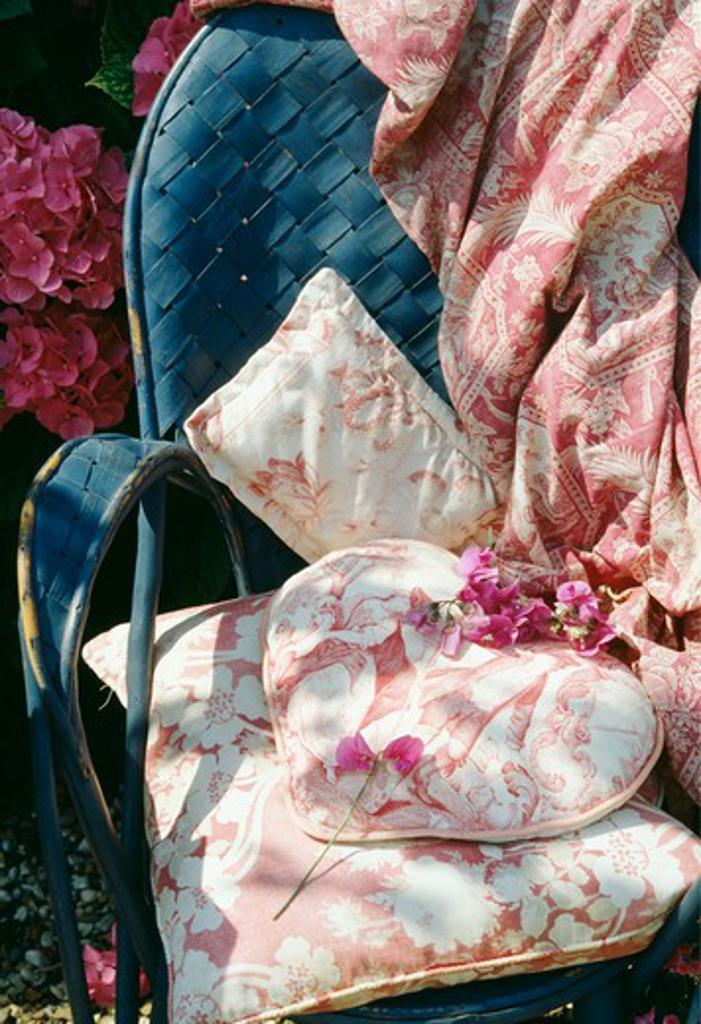 Stock Photo: 4291-22172 Still-Life of sweetpeas