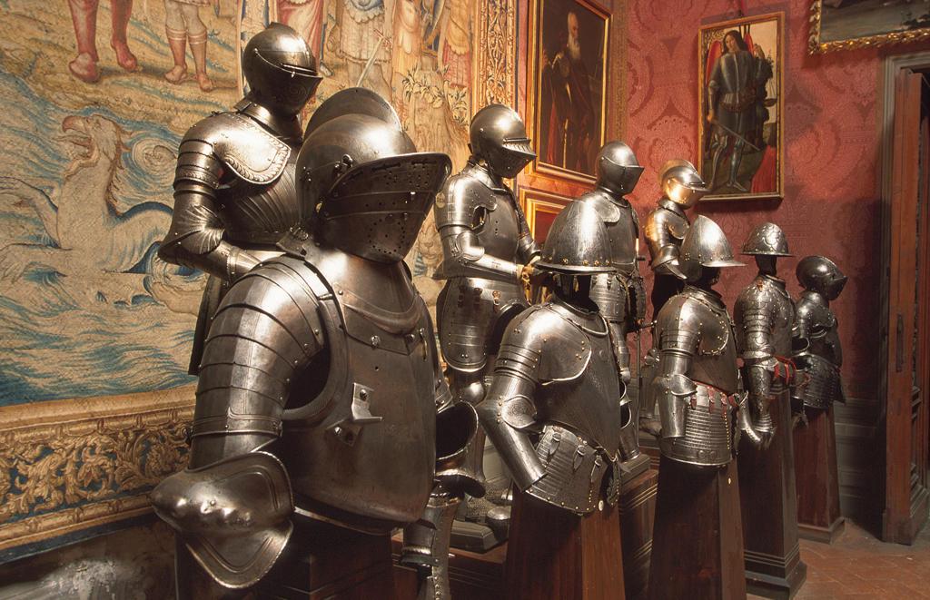 Tuscany, Florence, Stibbert museumthe armoury : Stock Photo