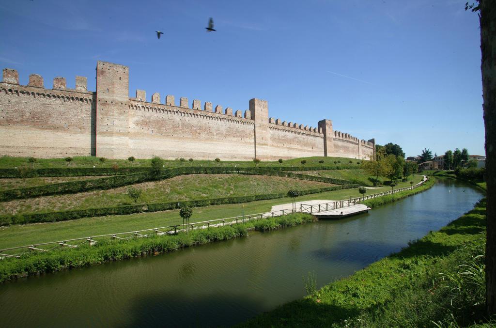Europe, Italy, Veneto,the Cittadella : Stock Photo
