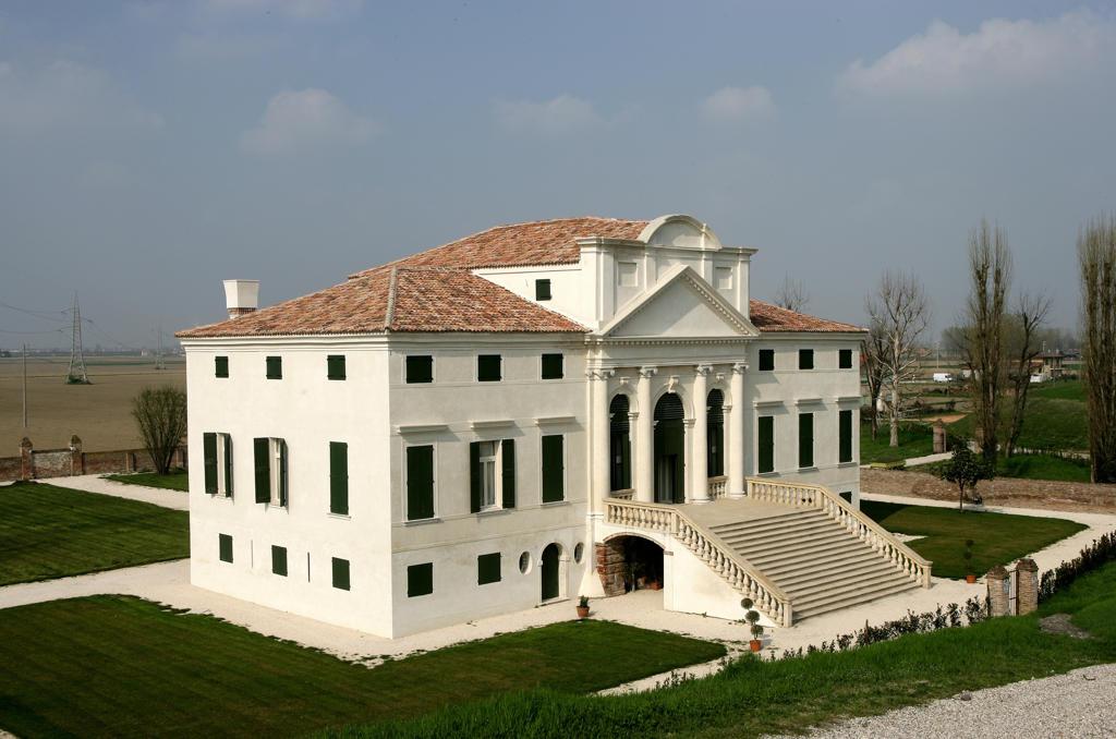Italy, Veneto, Polesella, Villa Morosini-Mantovani dello Scamozzi : Stock Photo