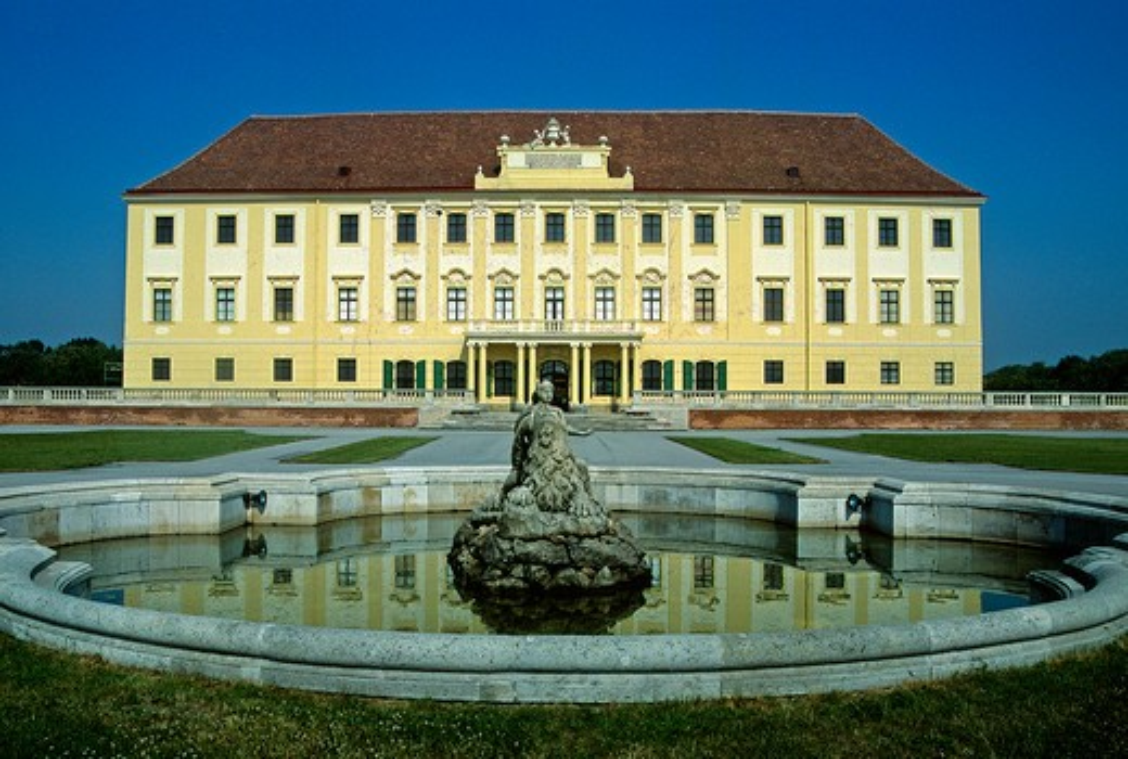 Austria,Schloss Hof castle : Stock Photo