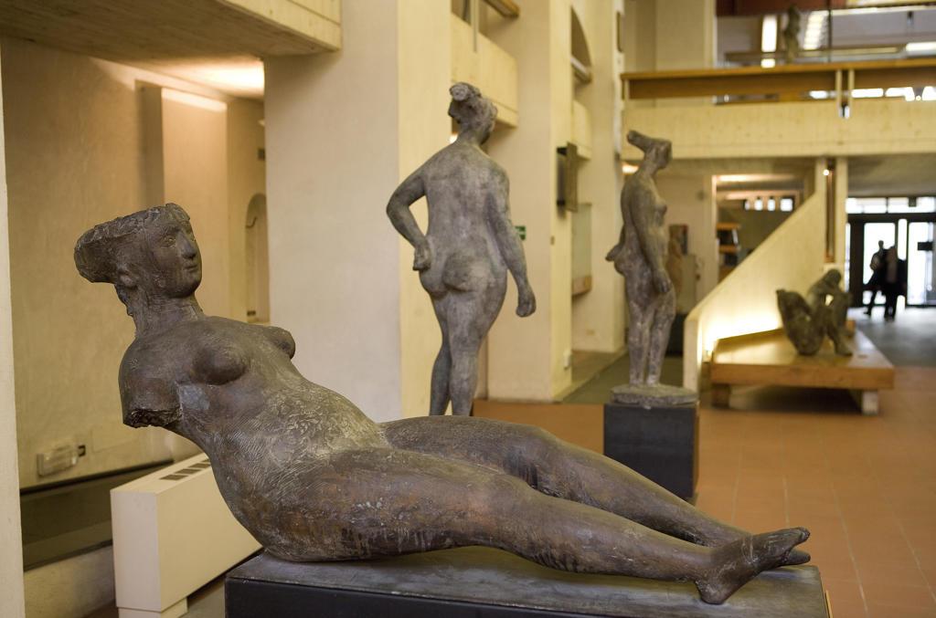 Tuscany, Florence, Marino Marini museum : Stock Photo