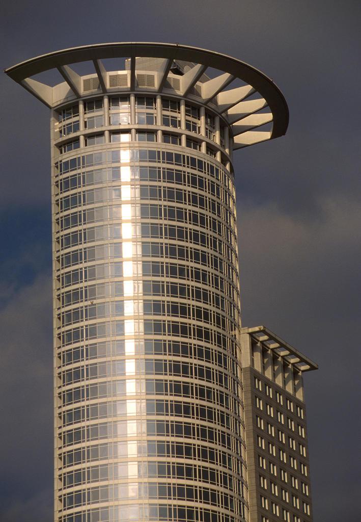 Germany, Frankfurt am Main, DG. Bank building : Stock Photo
