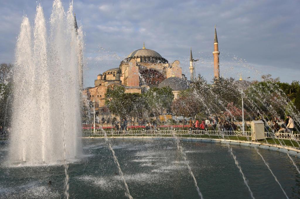 Istanbul, Agia Sophia : Stock Photo