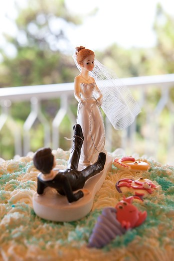 Stock Photo: 4292-10271 Wedding cake