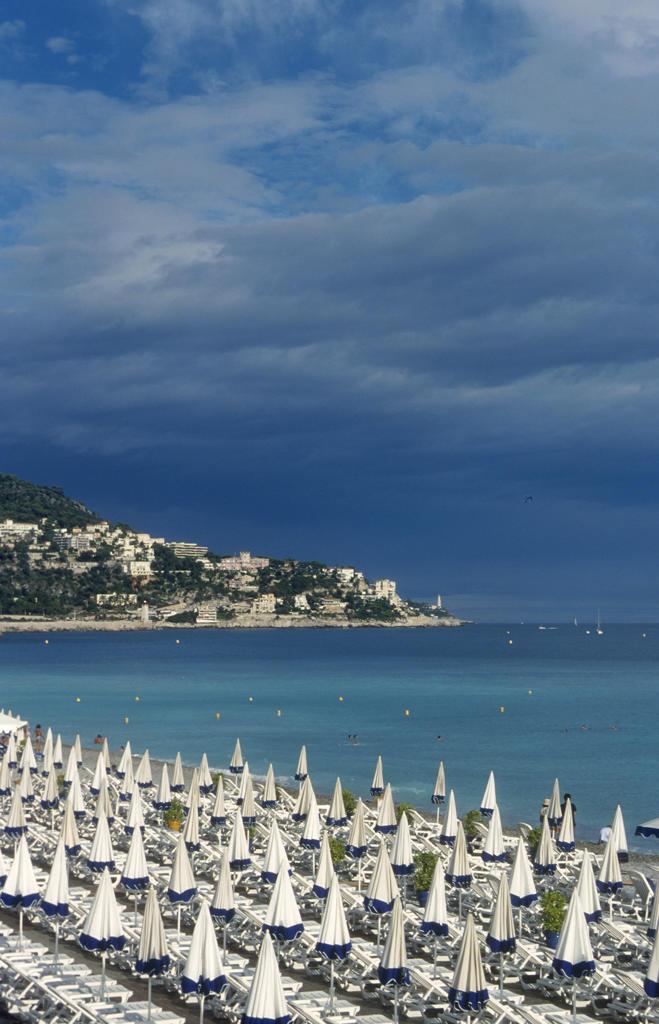 France, Nice, the beach : Stock Photo