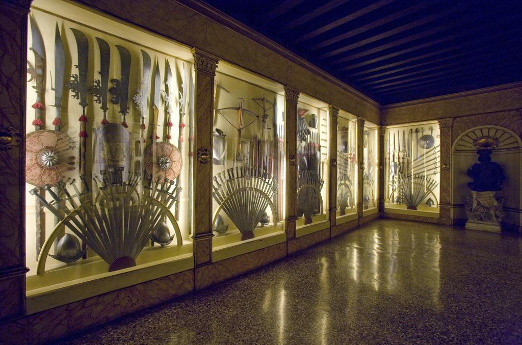 Italy, Veneto, Venice, Doges Palace interiors, the armory : Stock Photo