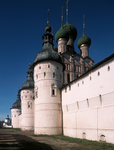 Stock Photo: 4292-105031 Russia, Rostov, the Kremlin