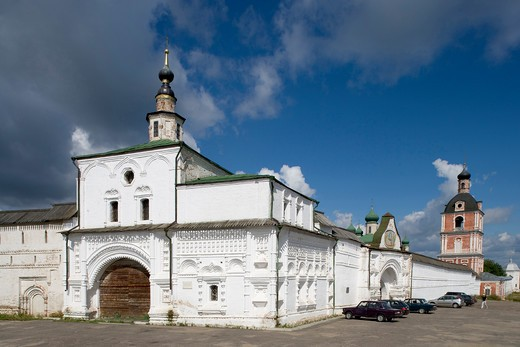Russia, Pereslavl-Zalessky, Goritsky monastery of the Assumption : Stock Photo