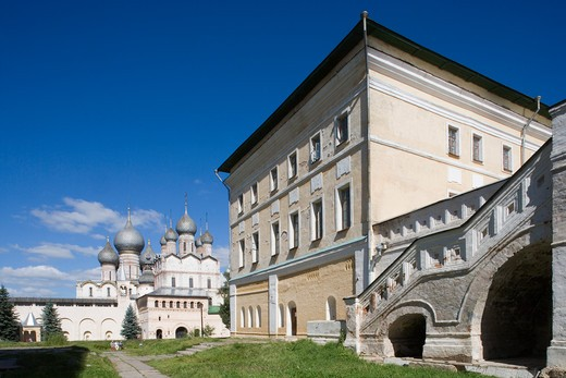 Stock Photo: 4292-105123 Russia, Rostov, the Kremlin