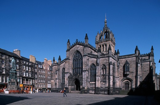 Stock Photo: 4292-105296 UK, Scotland, Edinburgh, Saint Gilles cathedral