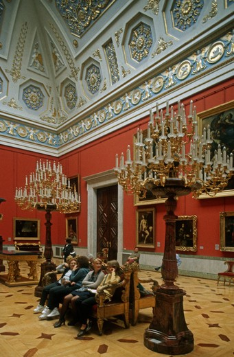 Stock Photo: 4292-106306 Russia, St.Petersburg, The Hermitage, winter palace interiors