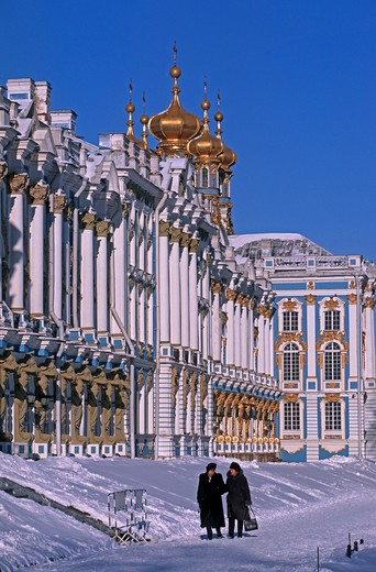 Stock Photo: 4292-106420 Russia St. Petersburg, Puschkin, Catherine palace
