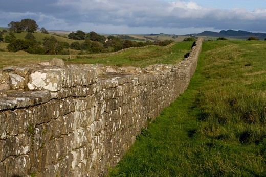Stock Photo: 4292-106480 UK, Northen England, Hadrian's wall