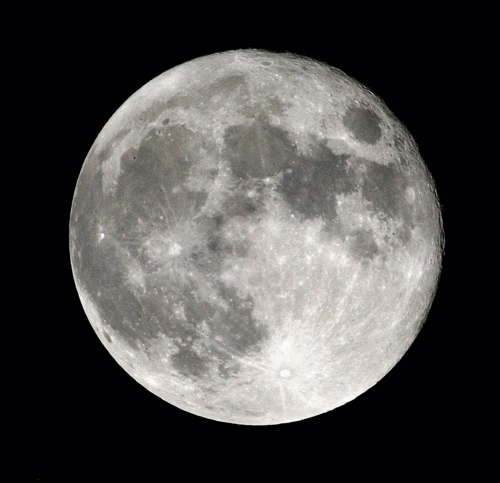 Stock Photo: 4292-108903 Full moon