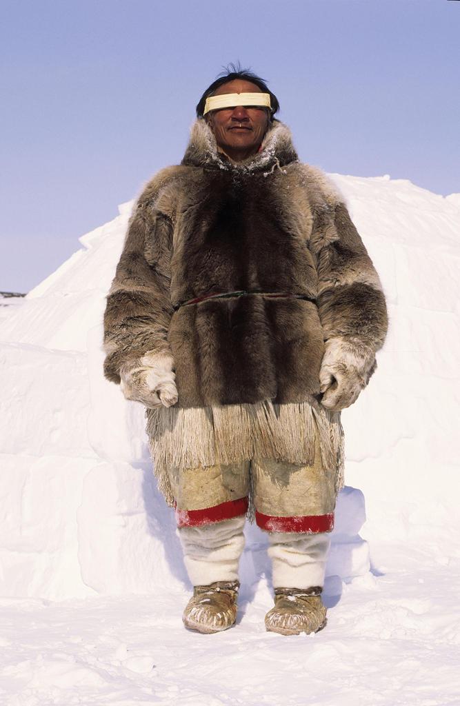 Canada, Baker Lake, Nanuvut, inuit : Stock Photo