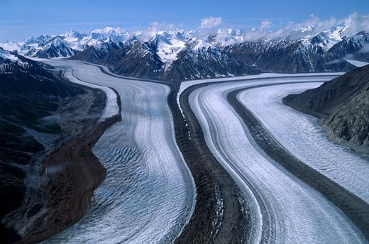 Stock Photo: 4292-111271 Canada, Yukon, Kaskawulsh Glacier
