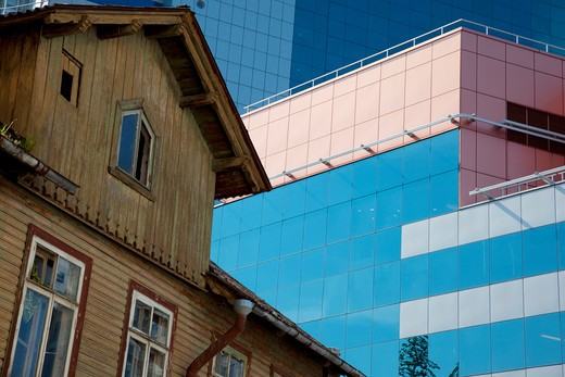 Estonia, Tallinn, Harju, Harjumaa, modern architecture : Stock Photo