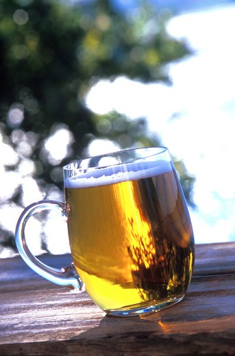 Stock Photo: 4292-112276 Glass of beer