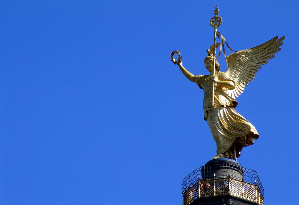 Stock Photo: 4292-112991 Germany, Berlin, Victory Column - Gold Else .