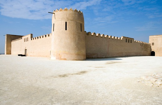 Stock Photo: 4292-113237 Bahrain, Riffa, Shaikh Salam bin Ahmed Al Fateh fort