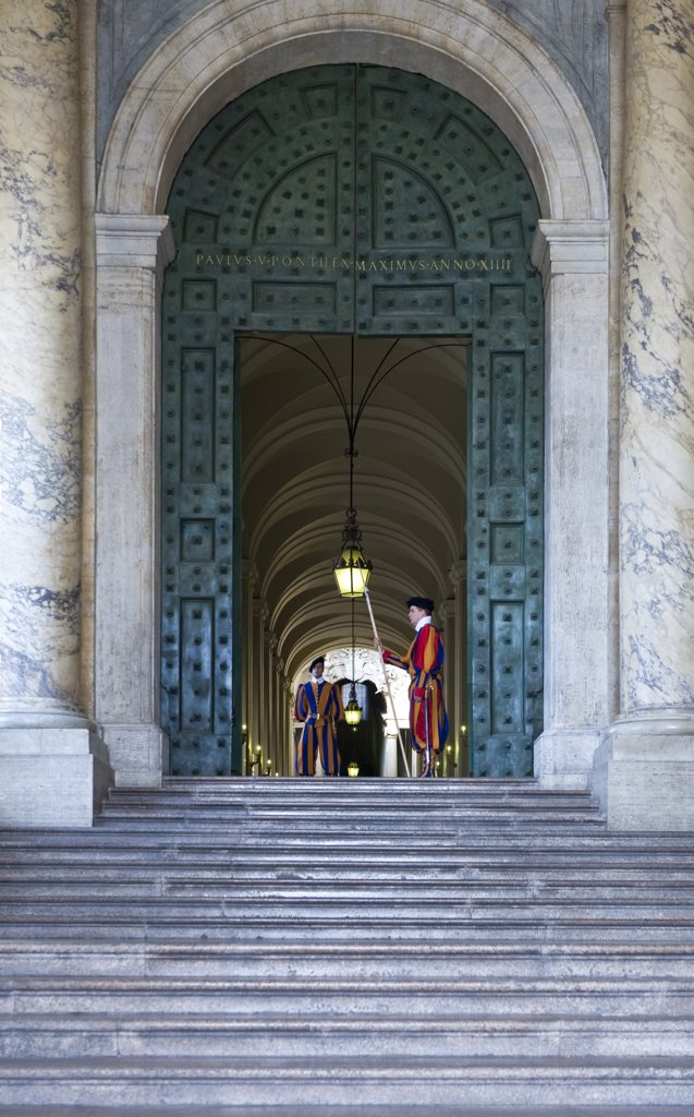 Stock Photo: 4292-113817 Italy, Lazio,Rome, the Vatican entrance