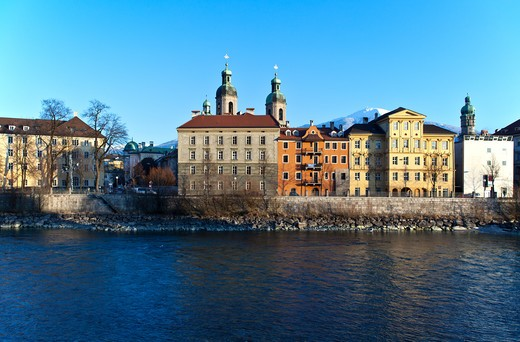 Stock Photo: 4292-114272 Austria, Innsbruck, Inn River