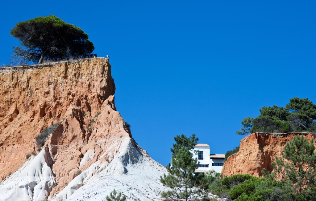 Portugal, Algarve, Albufeira, praia da Falesia : Stock Photo