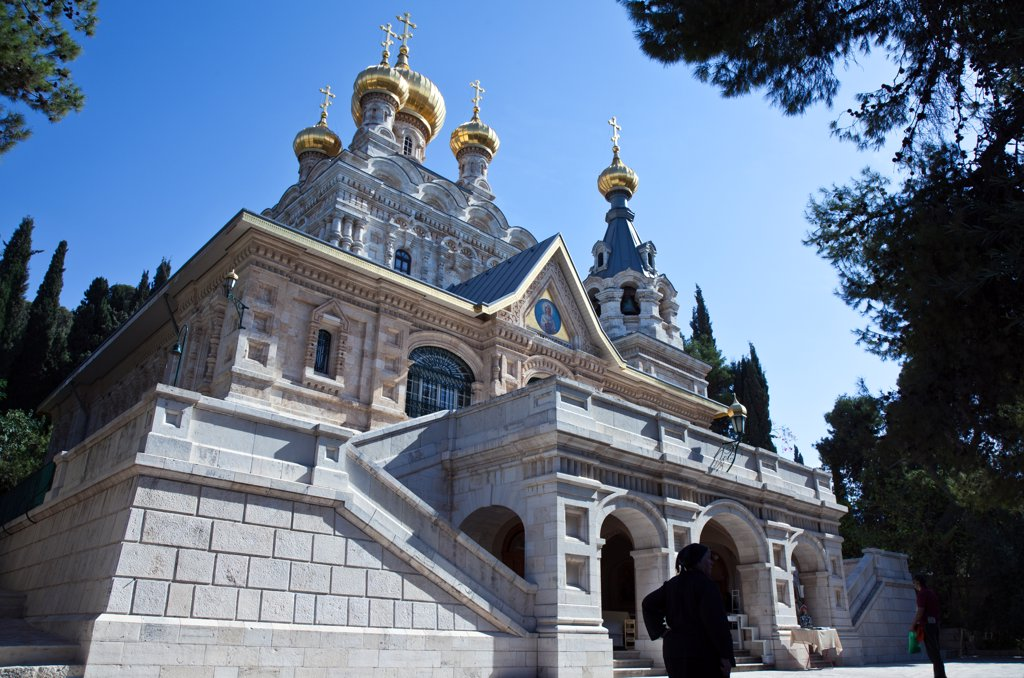 Stock Photo: 4292-114402 Israel, Jerusalem, the Mary Magdalene Orthodox church