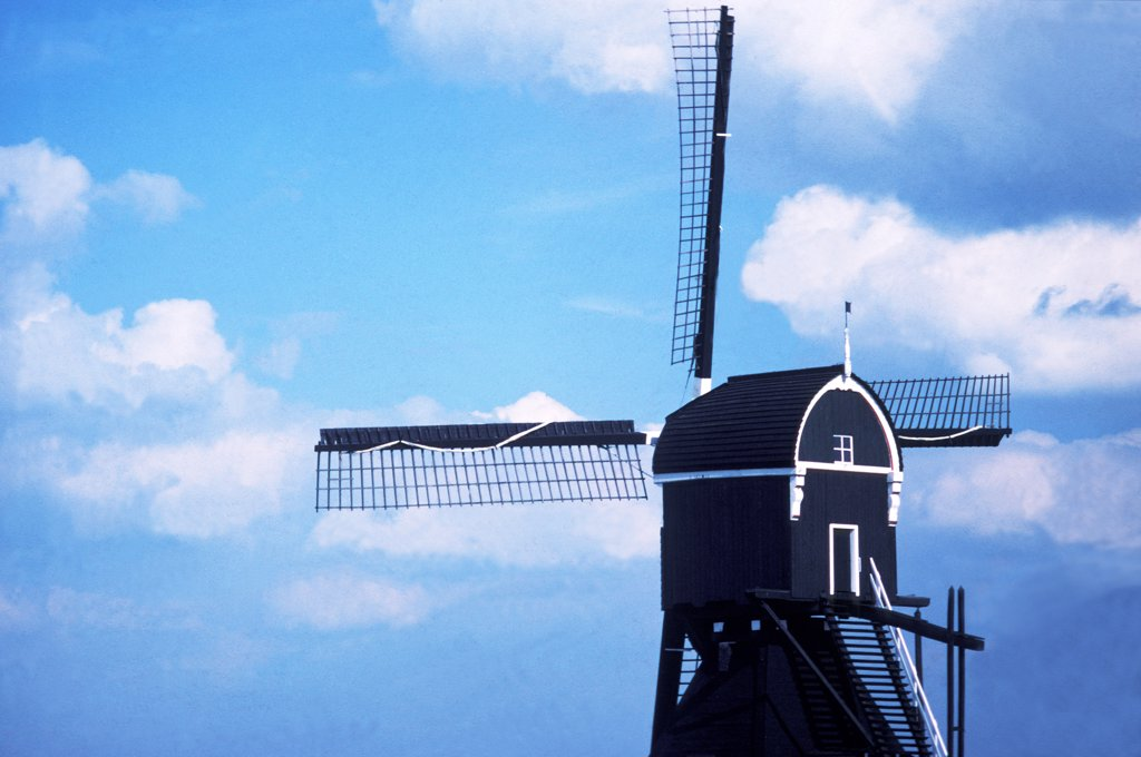 Stock Photo: 4292-114460 Holland, windmill