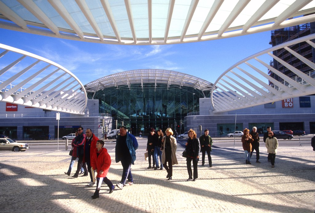 Portugal, Lisbon, Vasco da Gama centre : Stock Photo