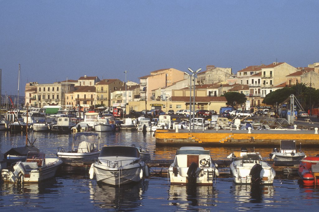 Stock Photo: 4292-116580 Italy, Sardinia, Maddalena Island, the harbour